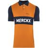 De Marchi X Eddy Merckx 1975 Liege Koszulka kolarska Mężczyźni pomarańczowy/niebieski